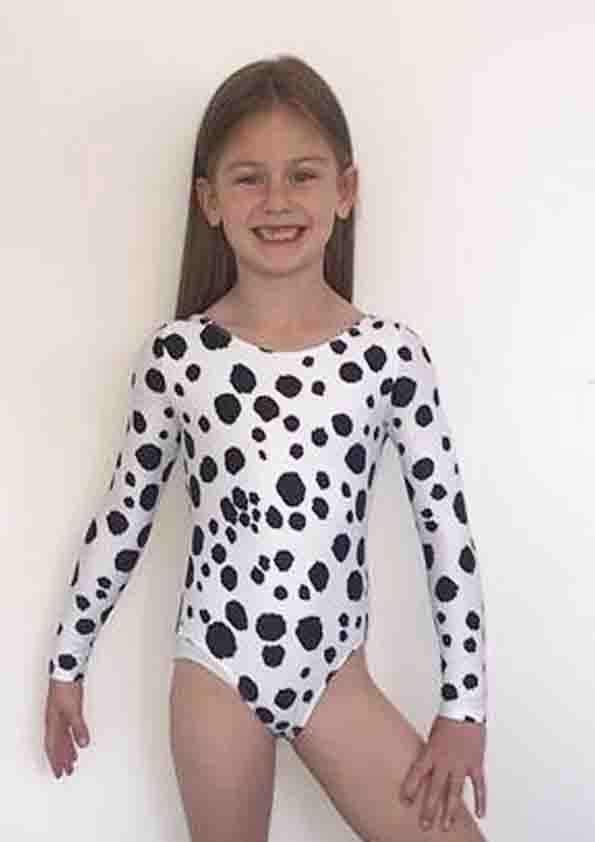 DALMATION Long Sleeved Leotard From £30